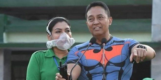 Alasan Kesehatan, Istri Jenderal Andika Gunakan Masker Seharga Rp 22 Juta