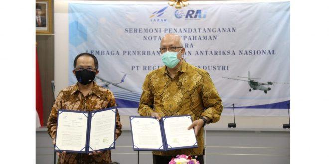 Bangkitkan Optimisme Pembangunan Kedirgantaraan Nasinal, LAPAN & PT RAI Lakukan Kerjasama